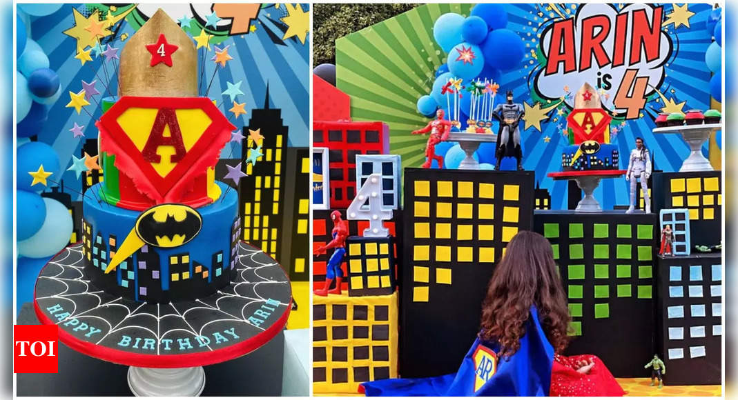 Asin's daughter Arin's 4th birthday party