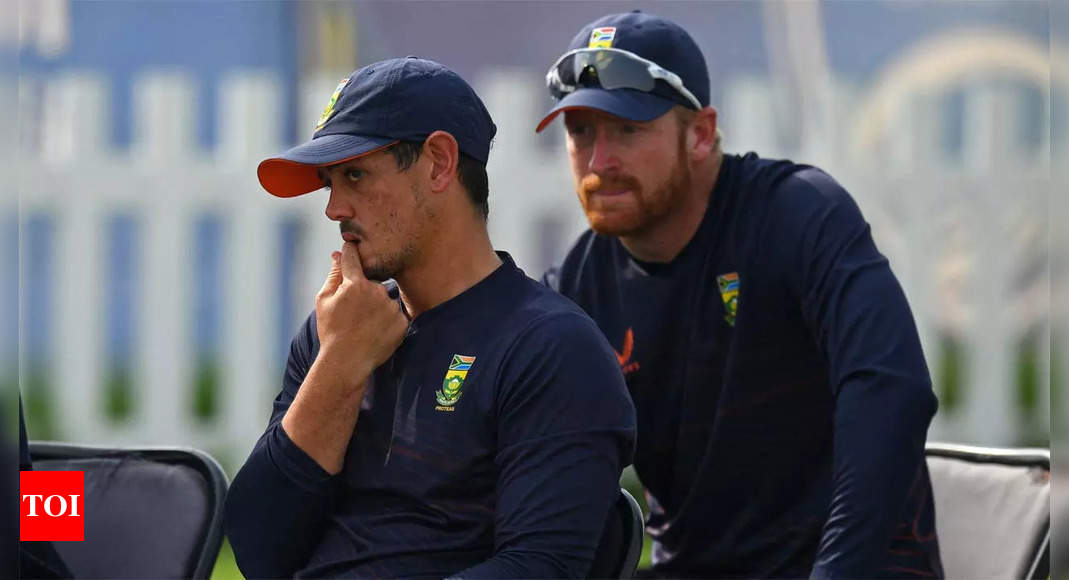 South Africa wait on De Kock explanation to decide his future | Cricket News – Times of India