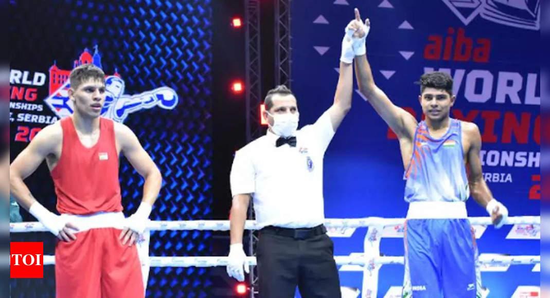 World Boxing: Nishant enters 2nd round; Govind in last 16