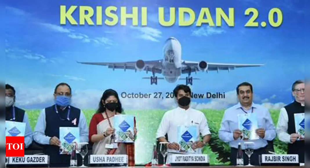 Synergising agri with aviation, Scindia launches Krishi Udan 2.0