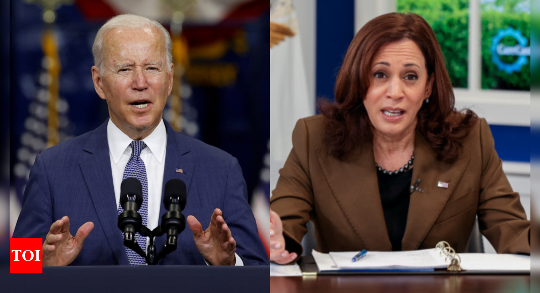 'Divided by lack of trust': US right wing rife with talk of Biden-Harris rift