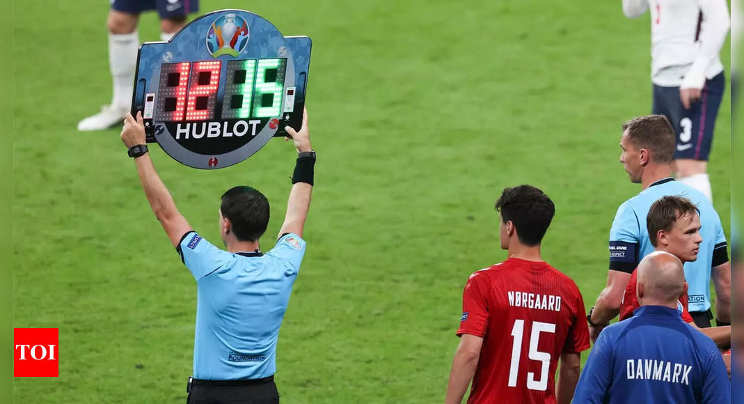 Football's five-substitute option to be made permanent