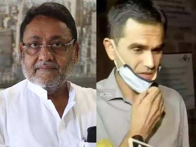 Wankhede let drug lord off hook: Nawab Malik