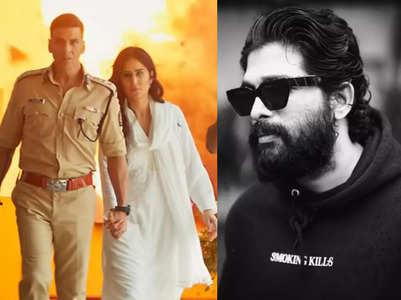 Allu Arjun showers love on 'Sooryavanshi'