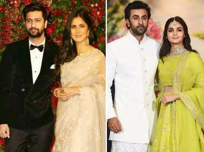 Bollywood's dreamy winter weddings
