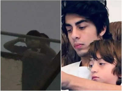 AbRam gets spotted after Aryan Khan's bail