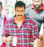 Ajay Devgn shoots in Jaipur