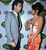 Geeta Basra with Siddharth Mallya