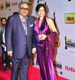 Sridevi with Boney Kapoor