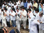 Stars at last rites of late Shammi Kapoor