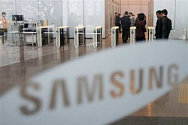 Samsung rejected  speculation it may buy Hewlett-Packard's WebOS software
