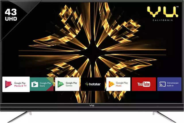 Vu Official Android 109cm 43 Inch Ultra, Does Vu Tv Have Screen Mirroring