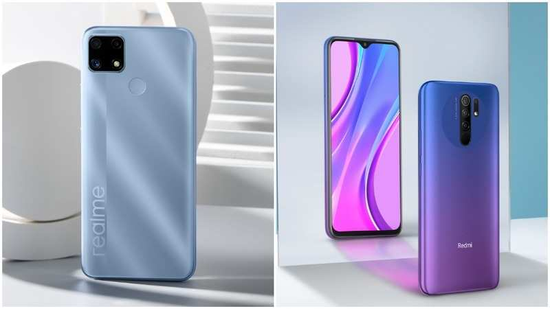 Realme C25 vs Xiaomi Redmi 9 Prime: How the two gaming phones under Rs 10,000 compare - Gadgets Now
