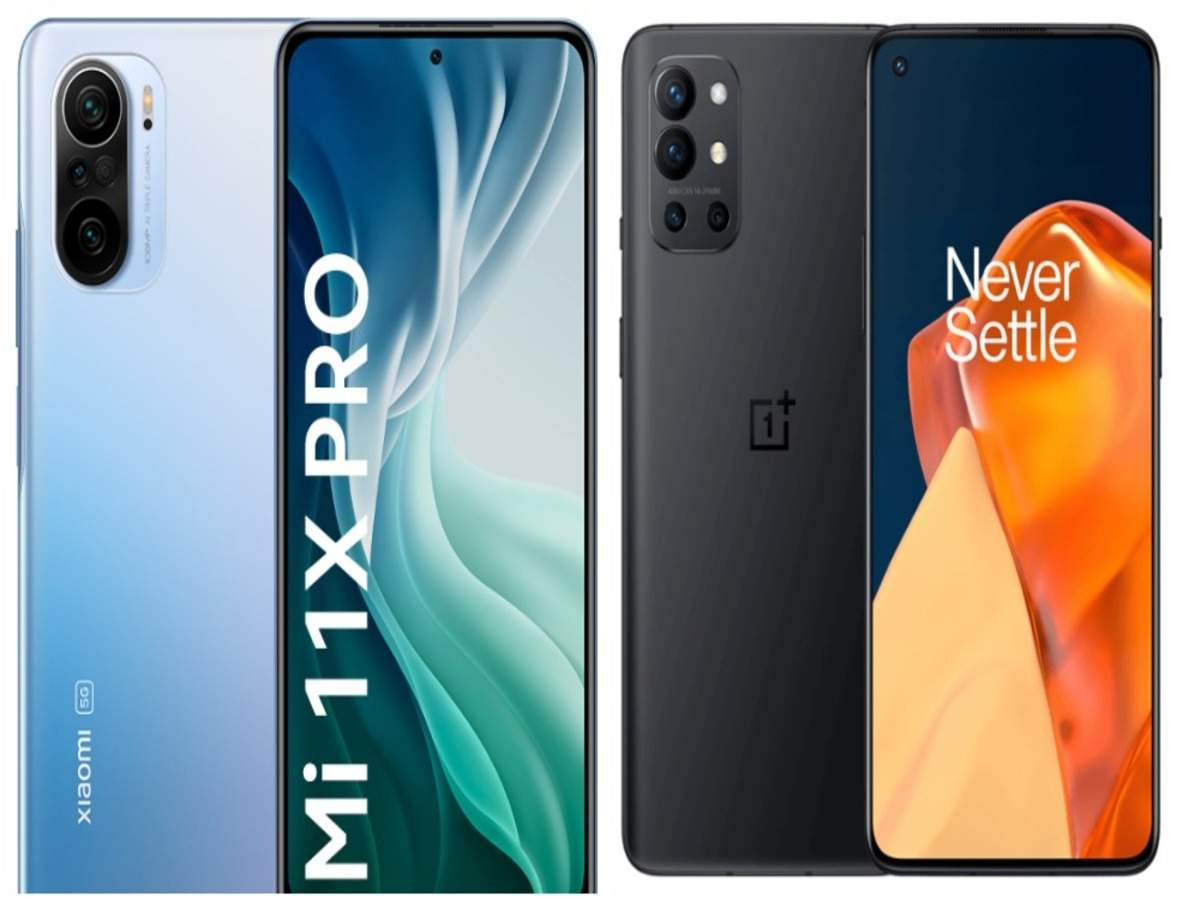 Xiaomi Mi 11X Pro vs OnePlus 9R: How the two affordable flagship phones  compare