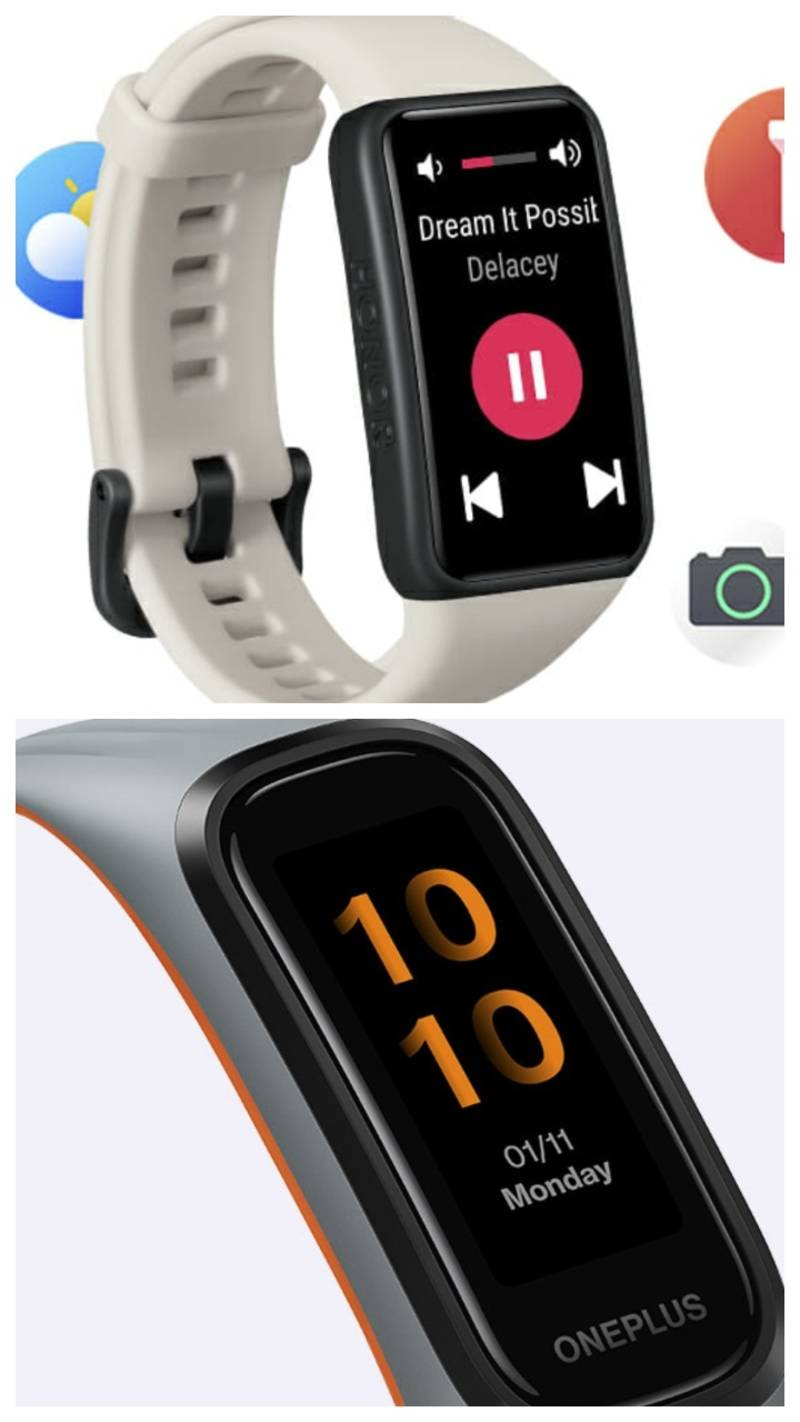 Honor Band 6 vs OnePlus Band: Here's how the two affordable fitness trackers compare
