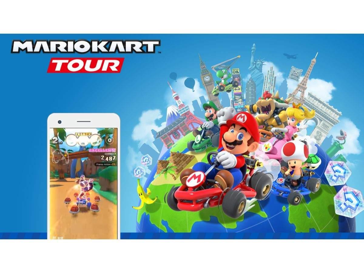 Mario Kart Tour Mobile Mario Kart Tour Is Now Available On