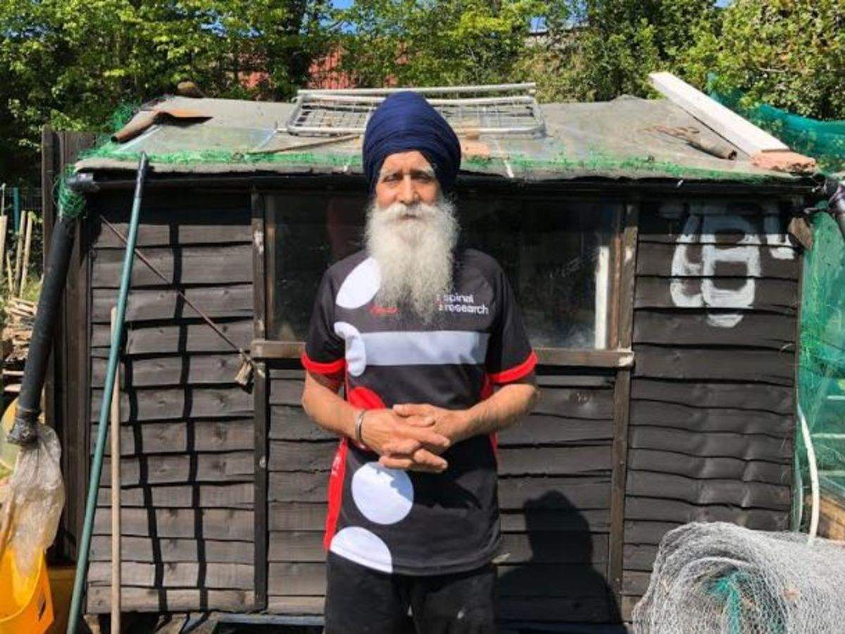 Septuagenarian In Uk Posts Lockdown Exercise Videos To Inspire Elderly Sikhs Times Of India