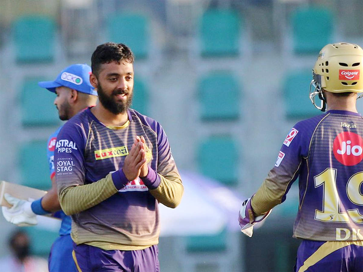 IPL 2020, KKR vs DC: Varun Chakravarthy takes five-for as Kolkata Knight  Riders beat Delhi Capitals by 59 runs | Cricket News - Times of India