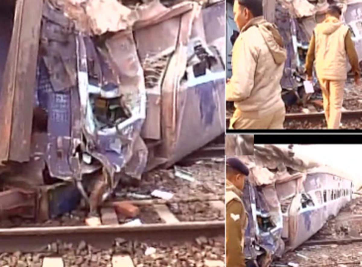 Sealdah-Ajmer express derails near Kanpur, 43 injured