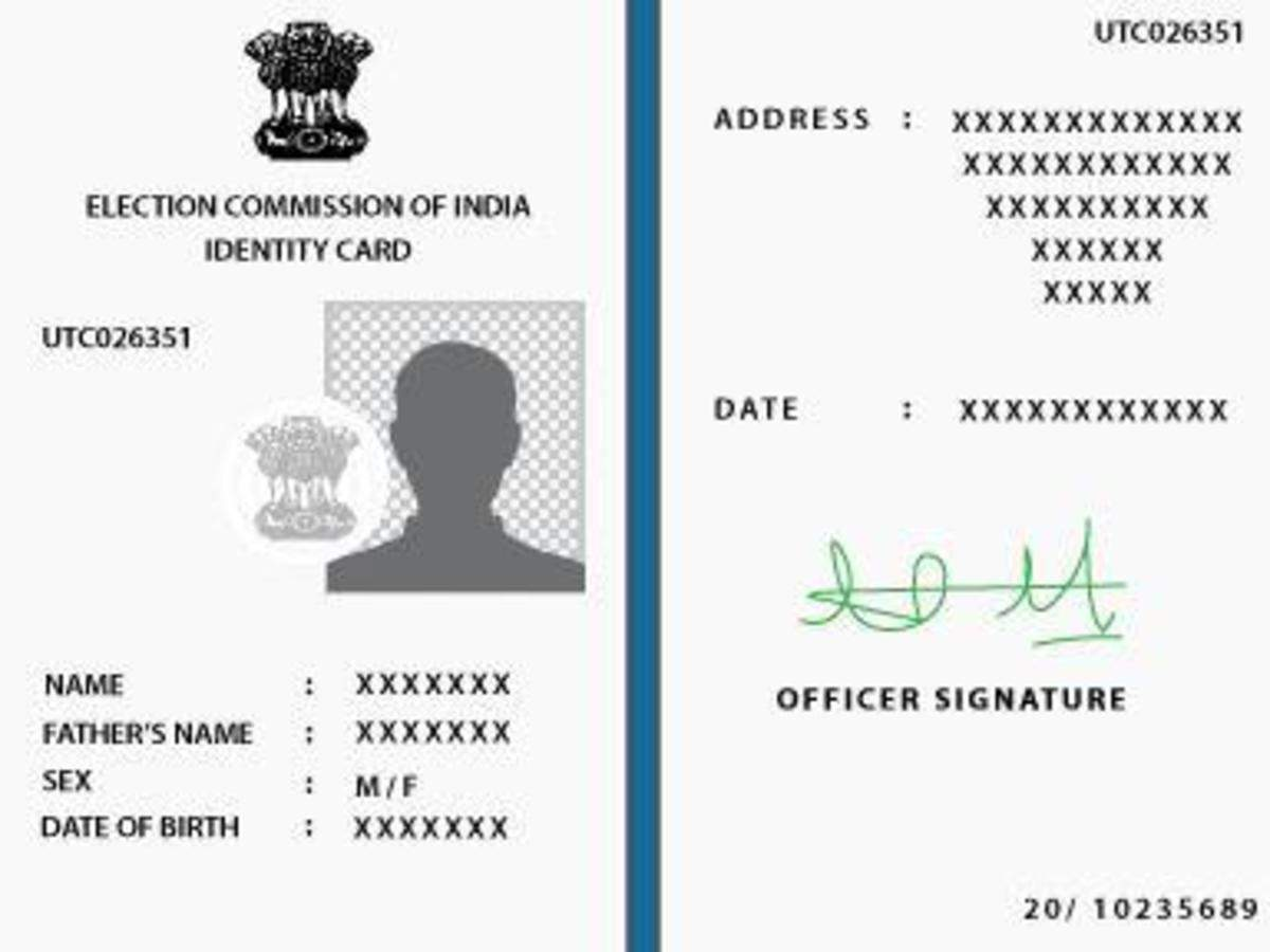 How to change address in voter ID card | India News - Times of India