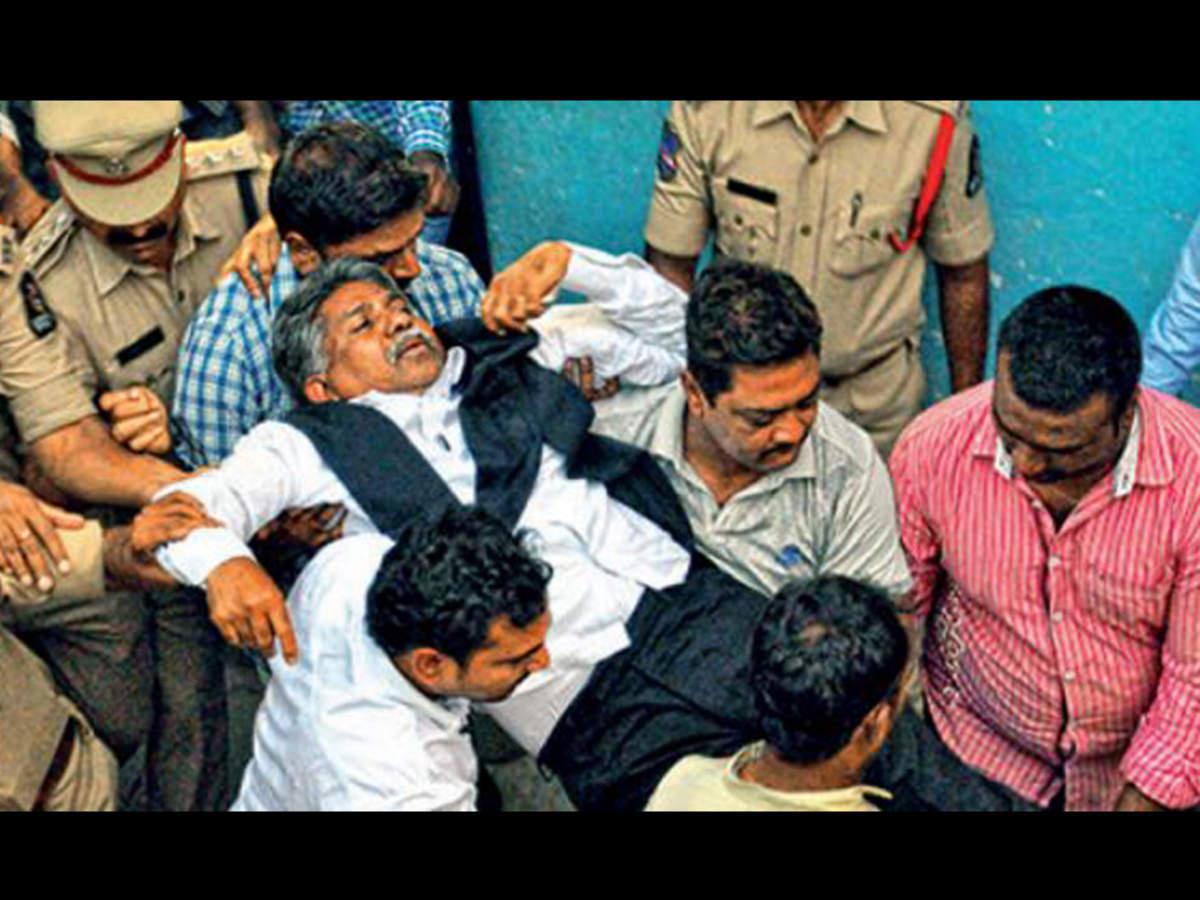 0aad9e7eb54d Manda Krishna: Manda Krishna arrested again | Hyderabad News - Times ...