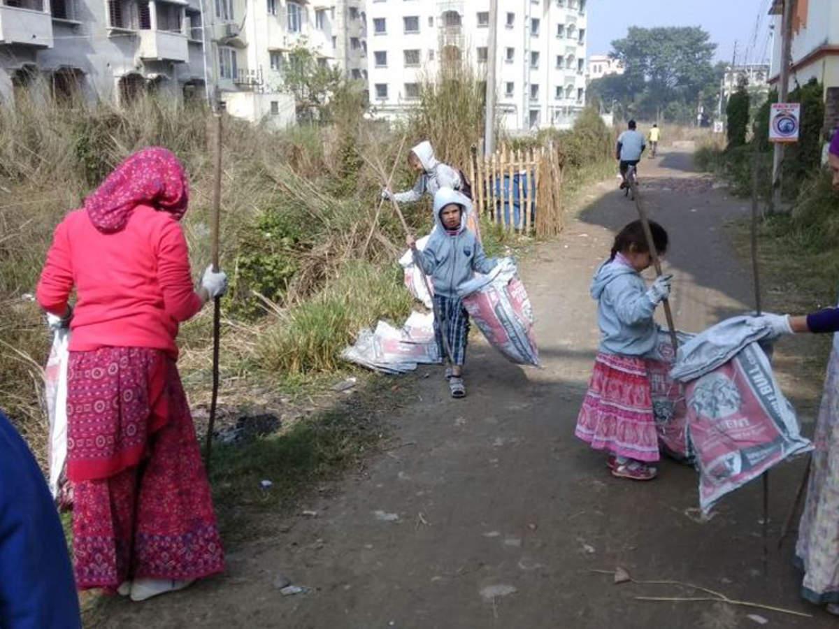 ISKCON Mayapur's waste management drive: Clean Dham, clean your
