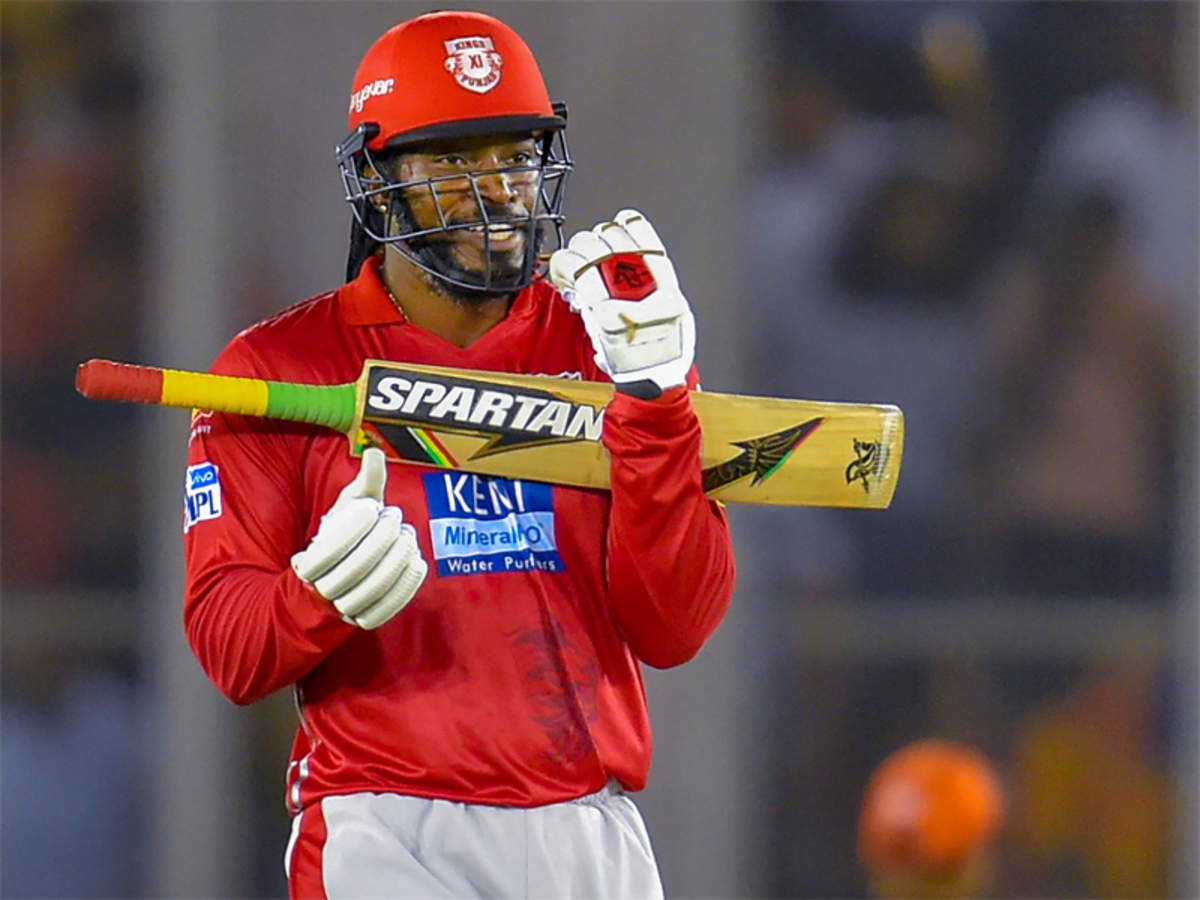 Chris Gayle: Chris Gayle becomes first centurion of IPL 2018 ...