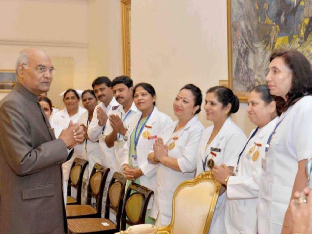 International Nurses' Day: President Kovind calls nurses 'true