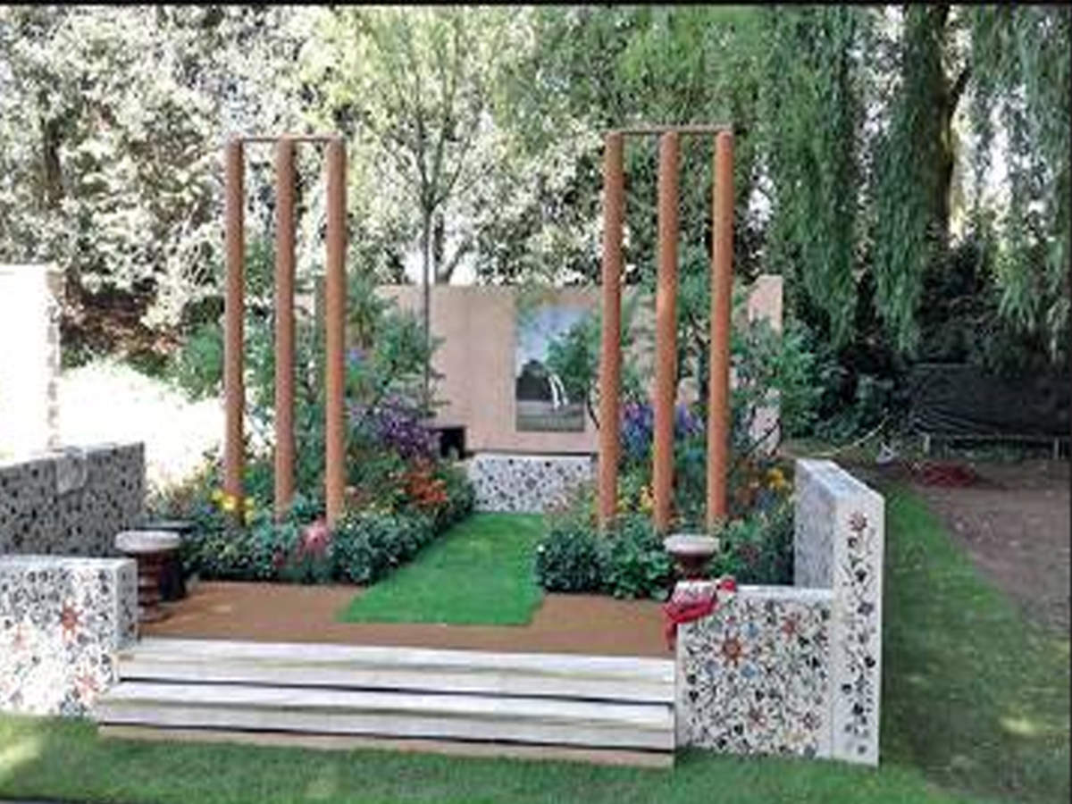 chelsea flower show: first indian garden at chelsea flower show wins