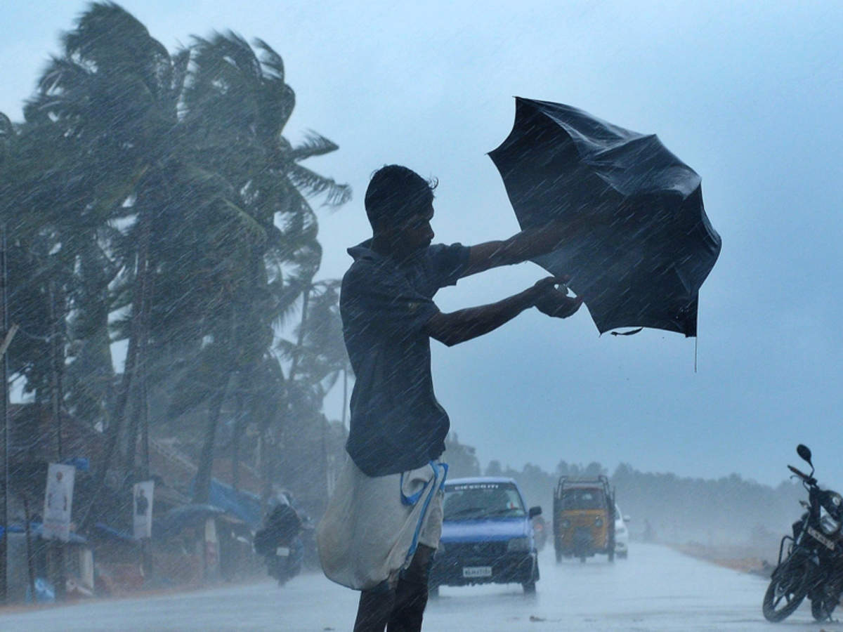 Heavy Rain lashing Kerala