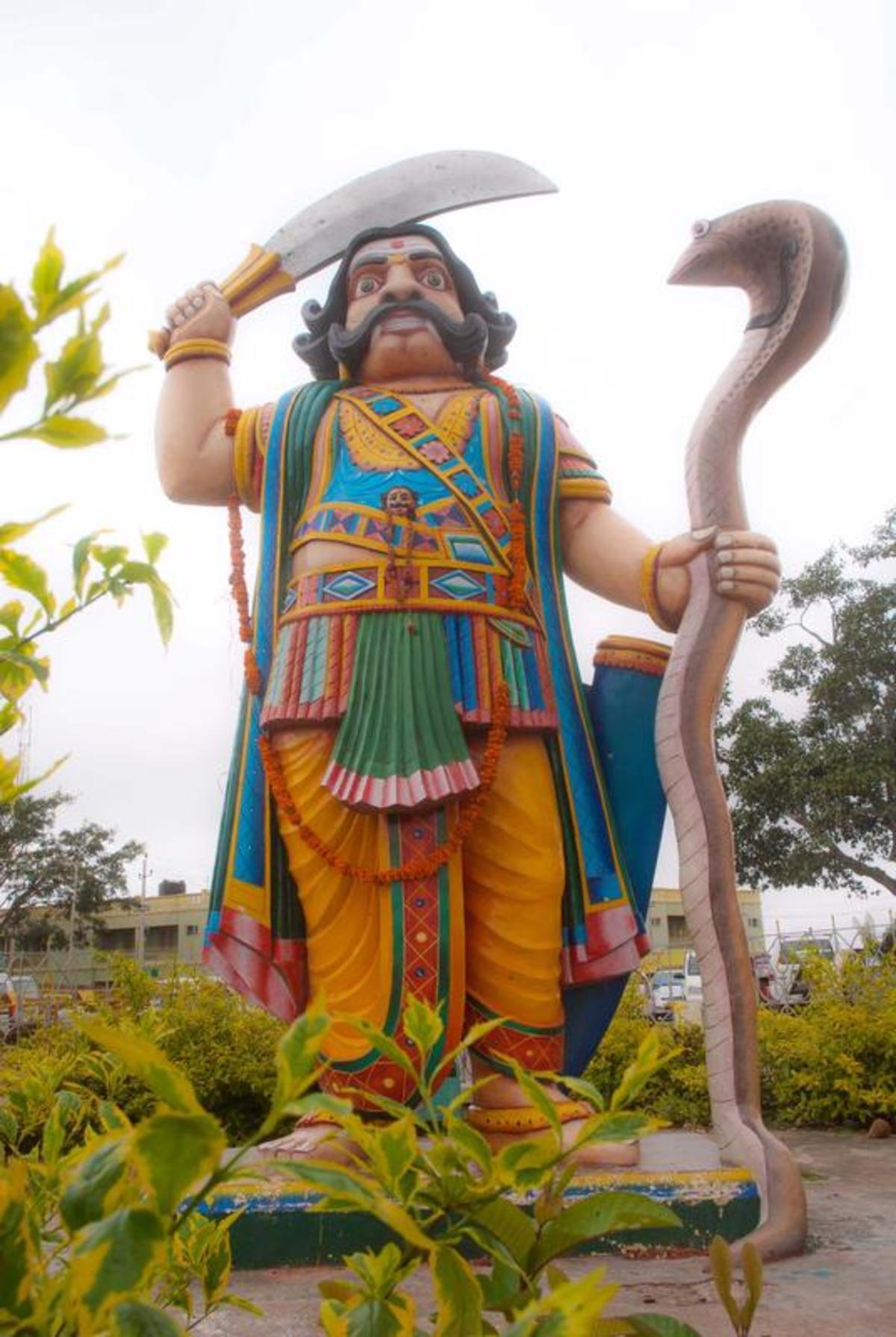 Mahisha was a Buddhist king who was demonised because he was