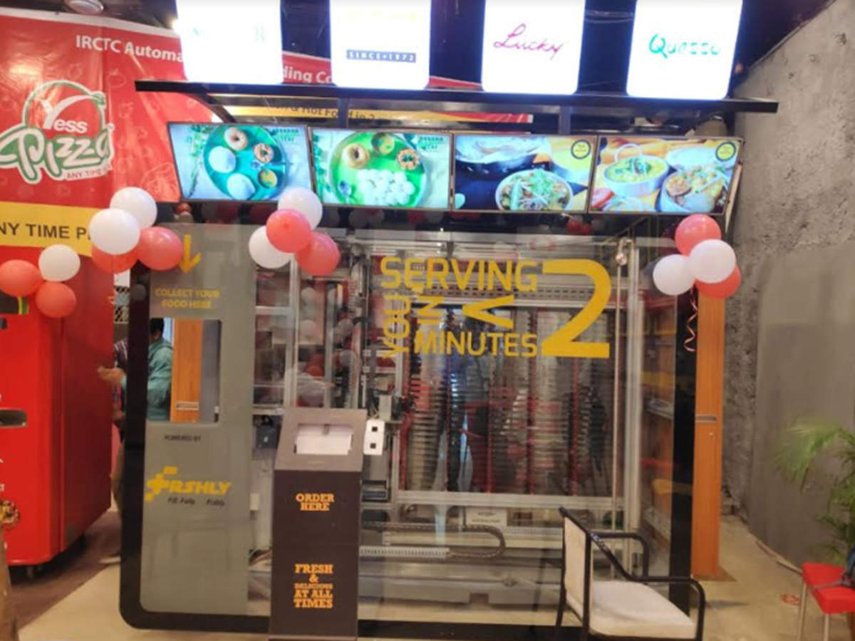 Automated Food Vending Machine At Mumbai Central To Serve Fresh Food