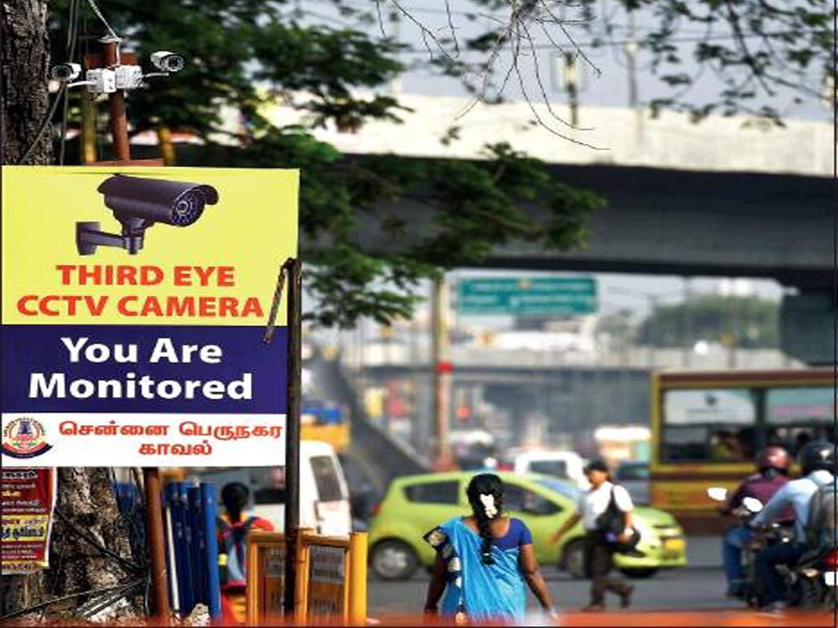 Image result for chennai police cctv camera