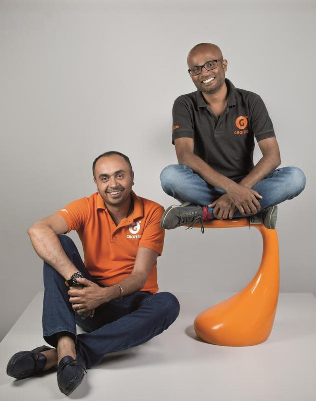 Founders of Grofers