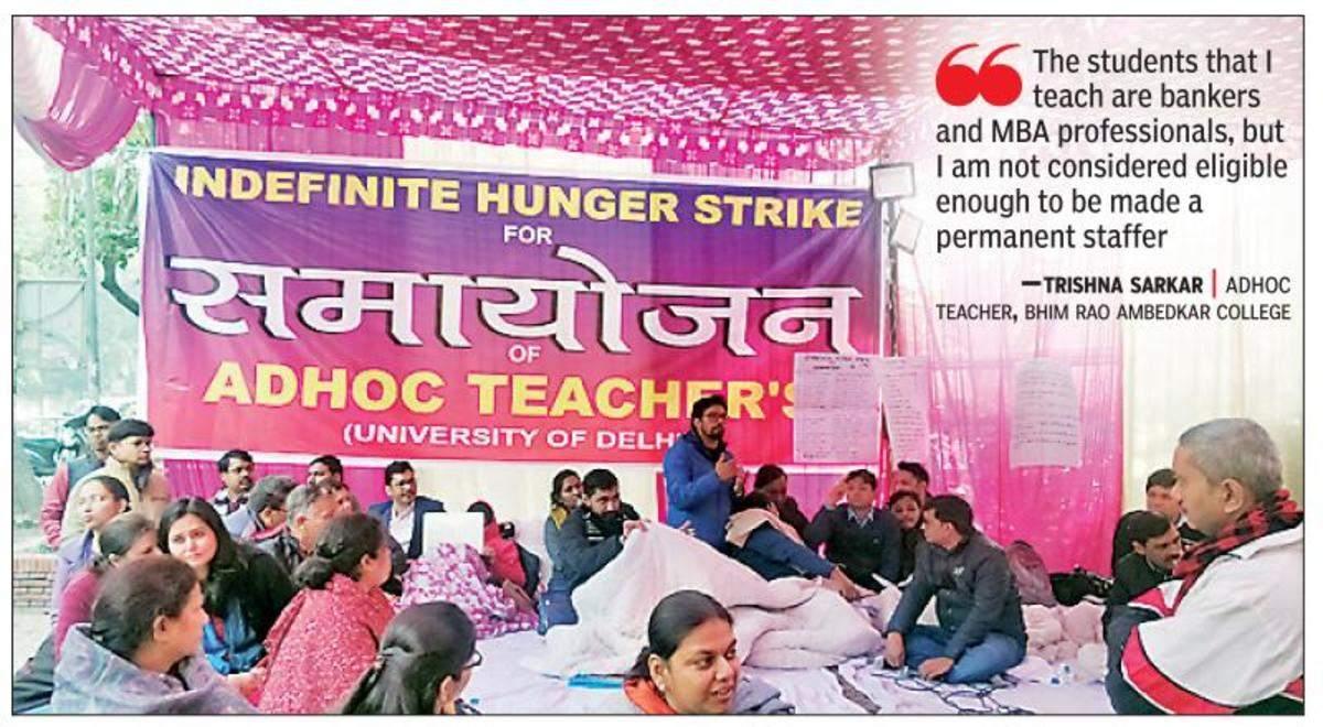 Ad hoc teachers refuse to be extras in exploitative plot