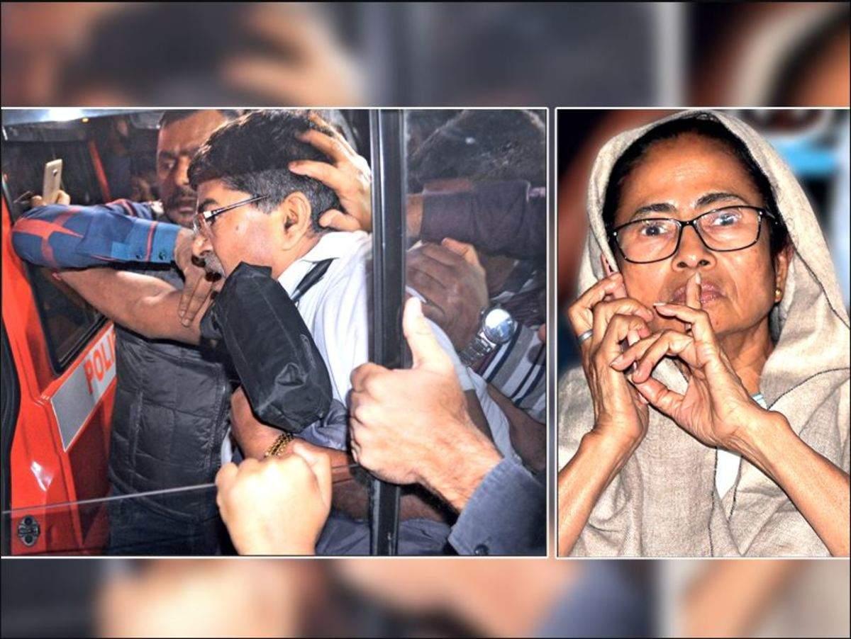 West Bengal: Kolkata police 'nab' CBI men, Mamata Banerjee at war