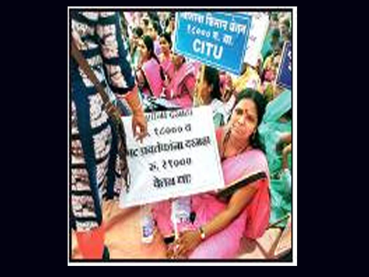 After Andhra move, Maharashtra social health activists demand pay