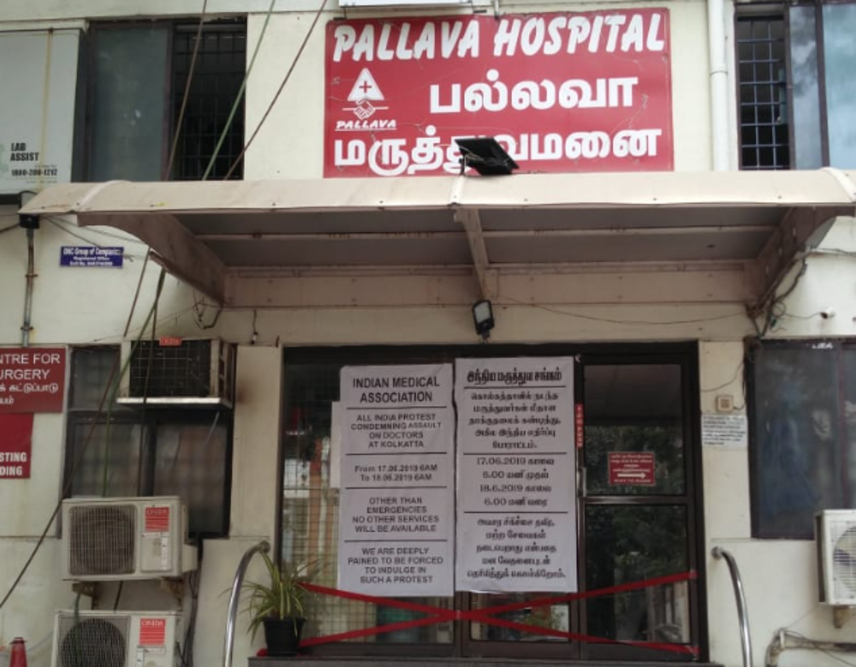Doctors strike: Docs in most private hospitals in Tamil Nadu cancel