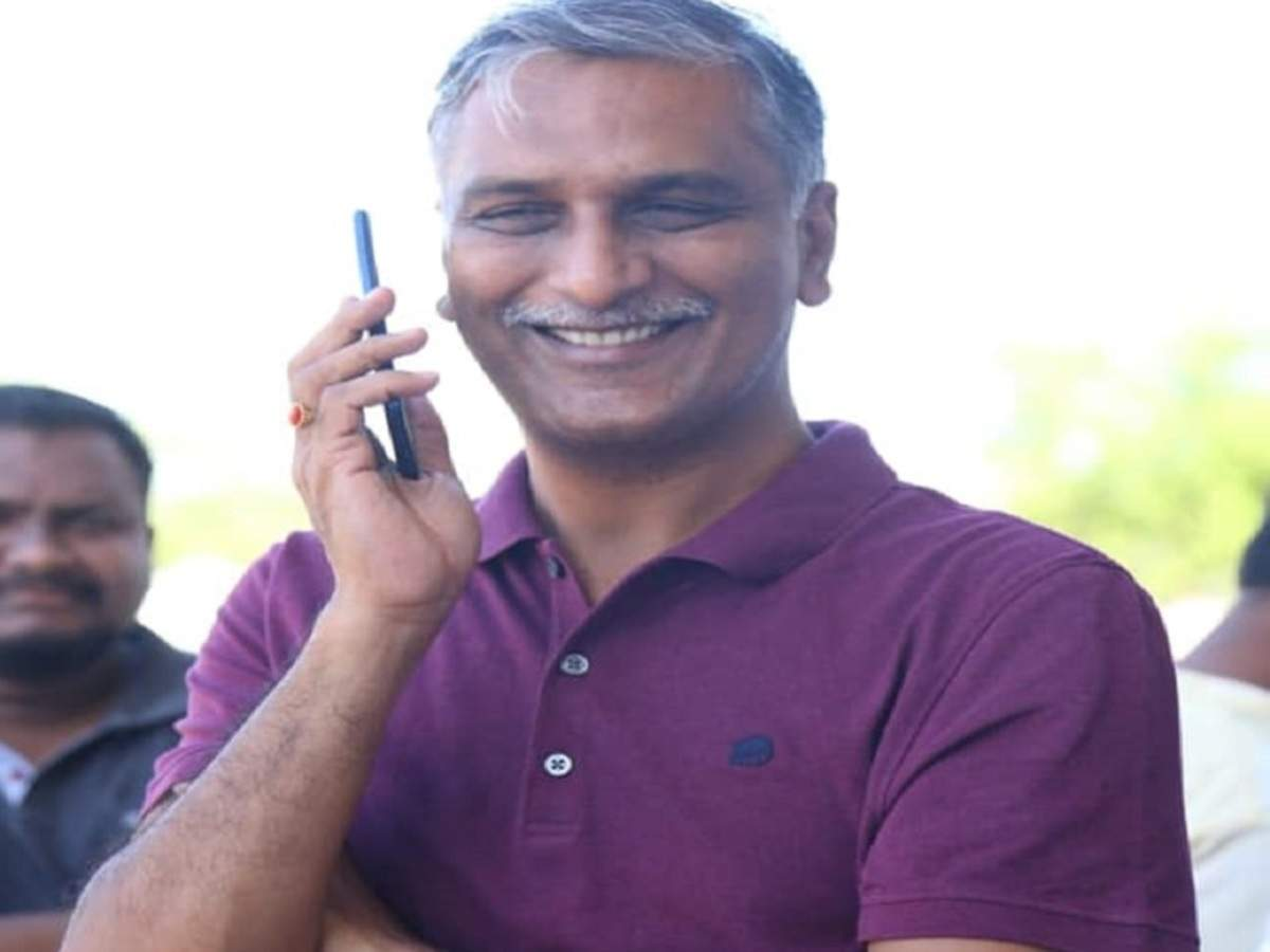 Former irrigation minister Harish Rao gets emotional on eve of
