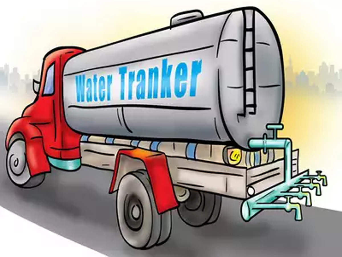 Rush for water tankers eases in Chennai | Chennai News - Times of India