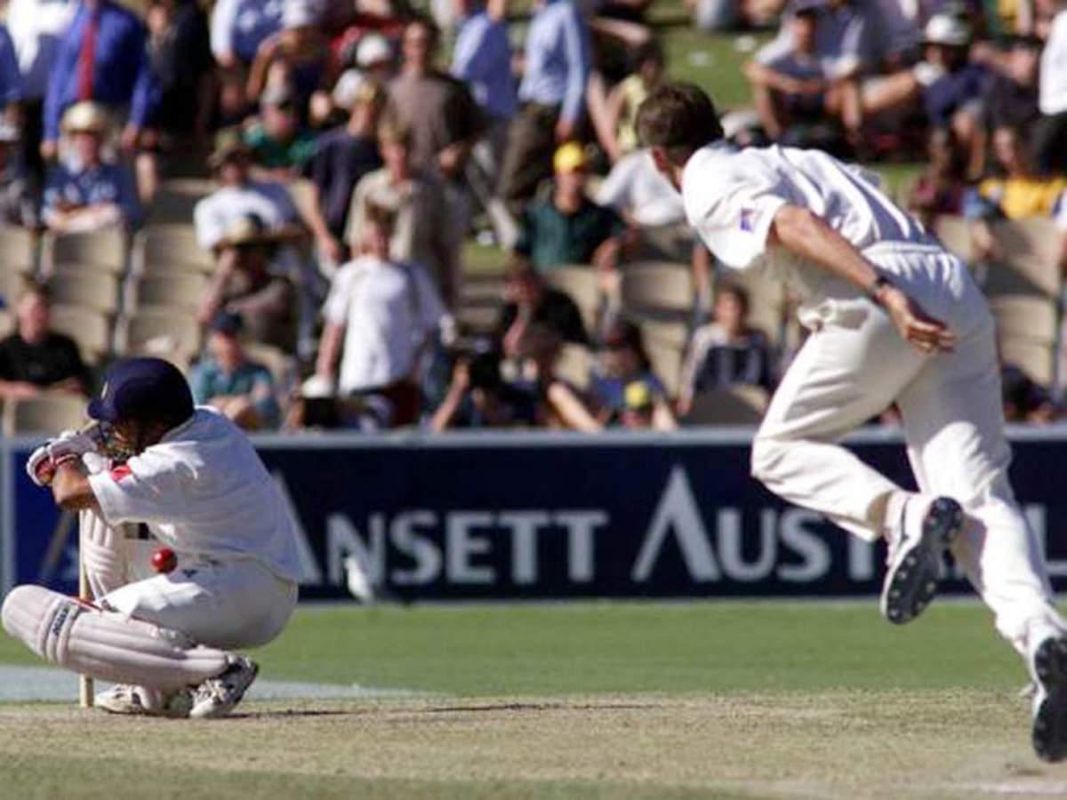 Glenn McGrath recalls Sachin Tendulkar ducking his bouncer ...