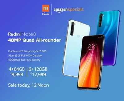Amazon Exclusive Redmi Note 8 To Go On Sale Again Today At 12 Noon Know More Most Searched Products Times Of India