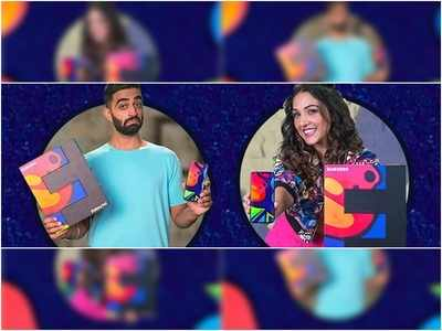 Singer Neeti Mohan Comedian Rahul Dua Flex Their New Samsung Galaxy F41 Tell Us What It Means To Go Fullon Times Of India