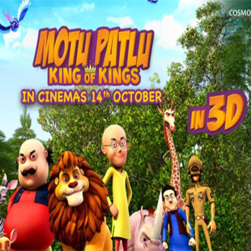 Motu Patlu King Of Kings In 3d Official Trailer Trailers Times