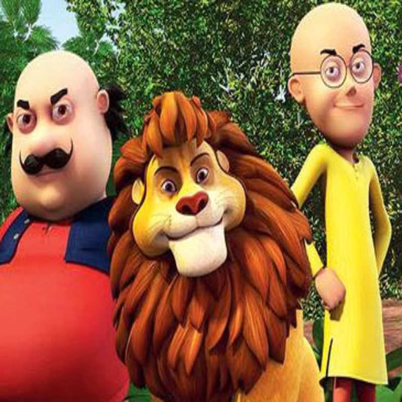 Motu Patlu King Of Kings In 3d Jungle Hai Jungle Song