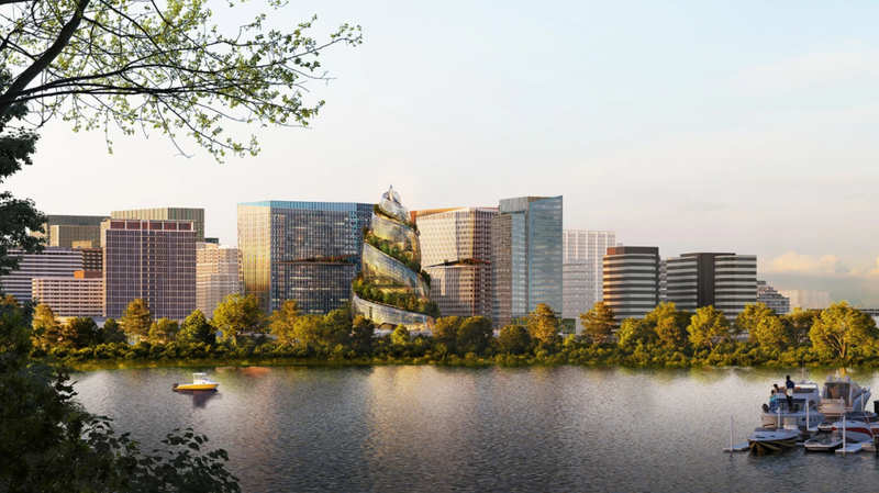Here's how Amazon's new headquarters will look like