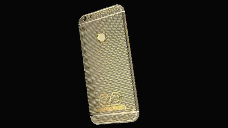 Amosu Call for Diamond iPhone 6 — $2 million