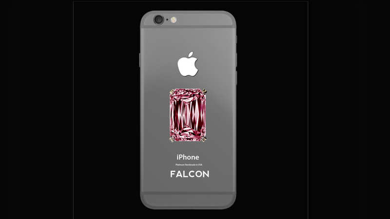 FALCON SuperNova iPhone 6 Pink Diamond — $48.5 million