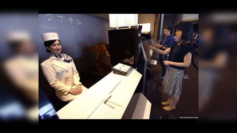 The Henn na – or Weird Hotel, Japan