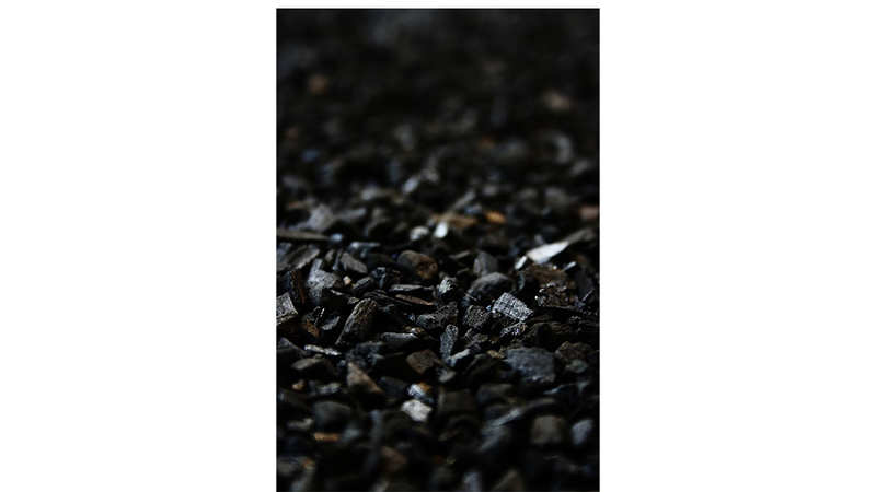Activated carbon layer
